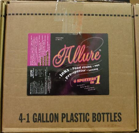 Allure Case of 4, 1 gallons