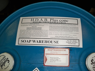 H.D.A.B. 55 gallon  (This can only ship via freight line, call to order)