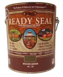 Ready Seal Stain - Mission Brown - 1 gallon