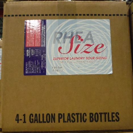 Rhea Size Case of 4, 1 gallons