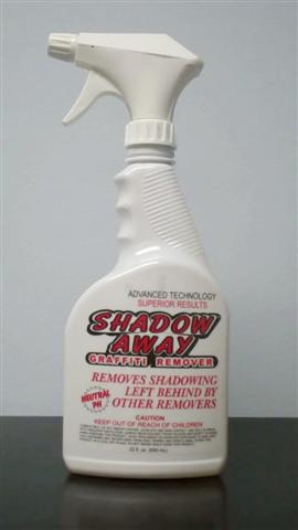 Shadow Away Graffiti Remover 22 oz