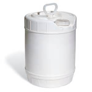 No. 1 - 5 gallon (This must ship via freight line, call for pricing)